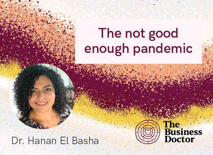 "Fighting the ""Not-Good-Enough"" Pandemic"